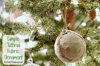 How to Make Fabric Christmas Ornaments http://www.itsoverflowing.com/2012/11/how-to-make-fabric-christmas-ornaments/ #fabric #ornaments #christmas #burlap