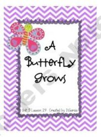 Journeys First Grade A Butterfly Grows Unit