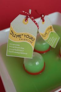 """Too cute!!! """"Slime"""" Yours Valentine!! :)"""