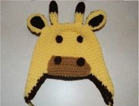 Crochet Creative Creations- Free Patterns and Instructions: Crochet Giraffe Hat