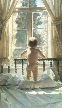 watercolor paintings by artist Steve Hanks