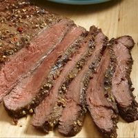 Caribbean Grilled Steak: Traditional flank steak gets an island twist with pineapple, a hint of lime, cumin and crushed red pepper.