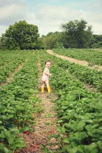 strawberry picking! must do activity w baby girl!! I'm so inspired by this picture! totally adorable!