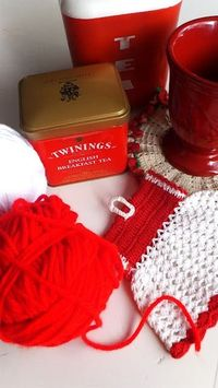 cute red kitchen treasures