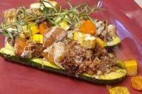 Spiced-Up Zucchini Boats | Cooking and Beer