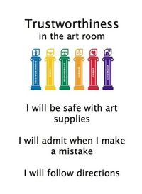 Download Character Counts Posters specifically for the art room!