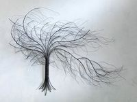 Tree Art - This would look perfect above my couch.
