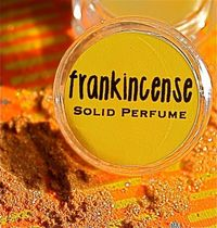 NEW All Natural Frankincense Solid Perfume by daisycakessoap