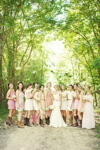 Southern 'forest'like wedding'