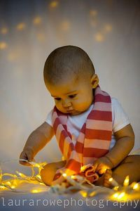 Babies and lights. Obsessed!