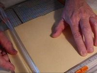 Manila Folder book - tutorial
