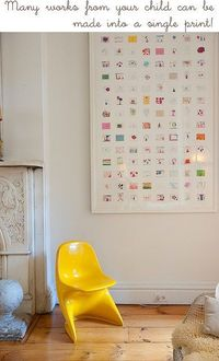 a great way to display artwork