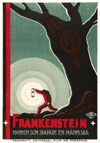 Swedish Poster for Whale'sFrankenstein