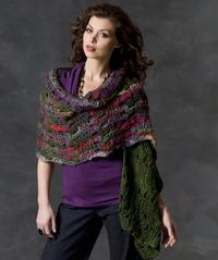 Musical Shells Shawl Crochet Pattern #crochet