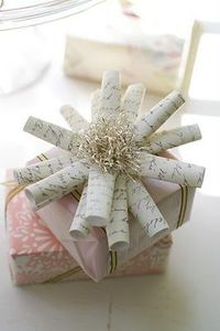 Rolled Paper Bow