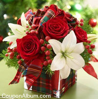 1800 Flowers is offering awesome savings up to 40% on festive flowers and gifts. shop 1800 Flowers Christmas Flowers & Gifts.