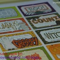 Free Printable...Halloween Lunch Box Notes