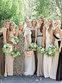 Love this for bridesmaid dresses!