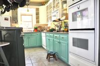 "lifeingrace HAS MOVED: The Retro Cottage Kitchen and a ""Painted Wood is Pretty"" linky party!!!"