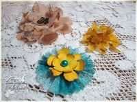 Frilly and Funkie: Crinoline flowers and great tutorials