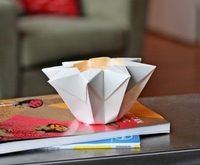 Make an origami star lantern | How About Orange