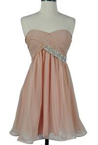 bridesmaid dress in a different color? :)