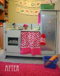 Changing Table Turned Play Kitchen