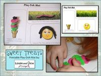 Free Play-Doh Mat printable
