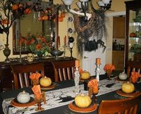 You'll find ideas you'll love to help create the perfectly-decorated table for your Halloween party or family dinner. The voracious vampires who find their way inside your front door will love what you've done with the place! Continue re...
