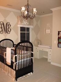 Love the built in changing table that will later become a desk....Genius!!!