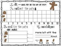 Gingerbread Man Data Collection (freebie) : )
