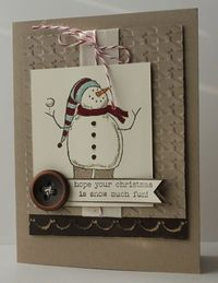 by Heather - so cute in kraft color with just a touch of color.