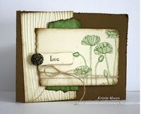 Sunshine, Smiles & Stamps= Lovin' Life: Celebrate Love- A natural, casual wedding Card
