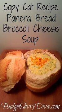panera bread recipe - Click image to find more Food & Drink Pinterest pins