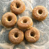 ++ Baked Apple-Spice Doughnuts