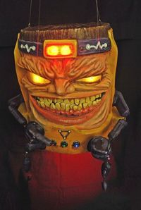 This M.O.D.O.K. marionette is awesomely horrifying