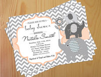 Baby shower invite invitation printable