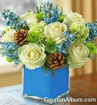This year let the 8 days of Hanukkah burn bright with flowers and gifts from leading online florist 1800Flowers.com. CouponAlbum.com is featuring 1800 Flowers coupon to buy fabulous gifts for every occasion.