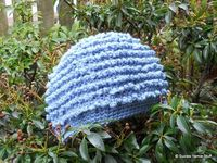 Suzies Stuff: BIBBITY BOBBITY BLUE WOMANS CAP