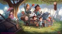 The littlest Browncoats play at being Firefly's Big Damn Heroes