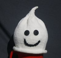 Baby Ghost Hat by obbindobbin on Etsy, $15.00