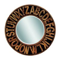 Alphabet Wall Mirror