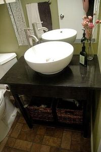 Bathroom Sink Base Tut