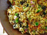 moroccan chickpea couscous salad...eating for england