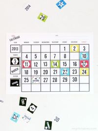 Printable Blank Calendars for Kids | Mr Printables