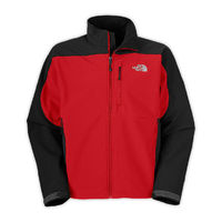 Mens North Face Apex Bionic Red/Black Jackets Cheap Sale