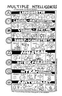 multiple intelligence poster - Which one are you?