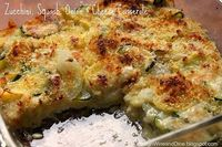 Zucchini, Squash, Onion and Cheese Casserole - A Low Carb Side Dish - Click image to find more Food & Drink Pinterest pins