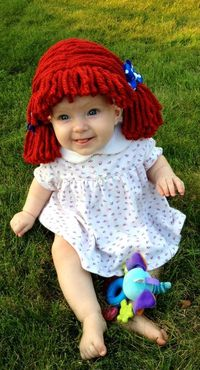 Cabbage Patch Wig for Halloween costume!