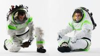 NASA's New Buzz Lightyear Spacesuit Prototype